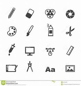 Graphic Design Icons Stock Vector - Image: 54019463