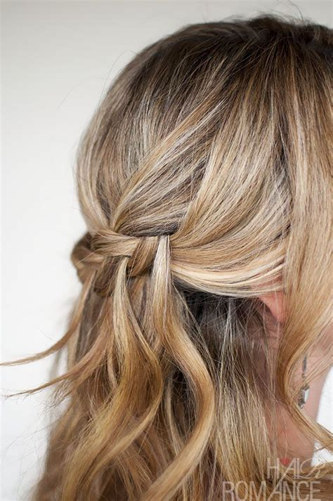 Plait Hairstyles For Hair by Waterfall Plait Hairstyle Tutorial Hair Hair Styles