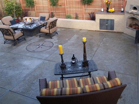 concrete patio ideas on a budget home citizen