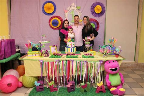Barney And Butterfly Birthday Party Ideas