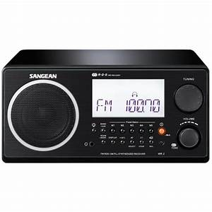 SANGEAN WR 2 Black Radio Digitale Haut De Gamme Radio Cd