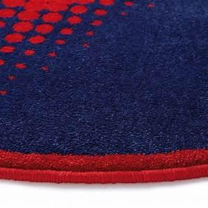 Tapis Rond Rouge : tapis rond walk of fame rouge cosmic glamour wecon 100x100 ~ Teatrodelosmanantiales.com Idées de Décoration
