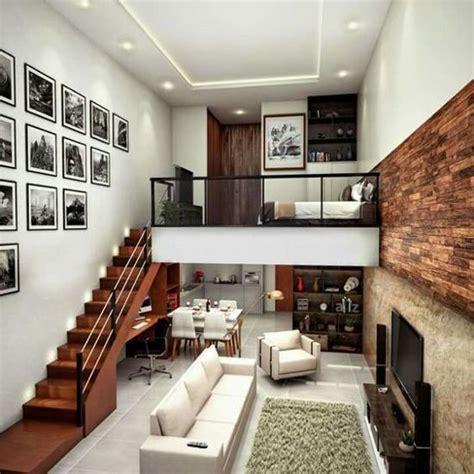 desain interior rumah minimalis  lantai mezzanine