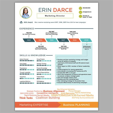Graphic Design Resume Sles by 29 Awesome Infographic Resume Templates You Want To