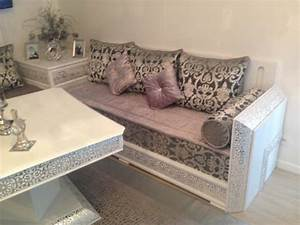 salon marocain moderne et traditionnel With tapis oriental avec salon canape fauteuil tissu
