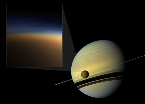 Titan S by Scientists Home In On The Mystery Of Titan S Atmospheric