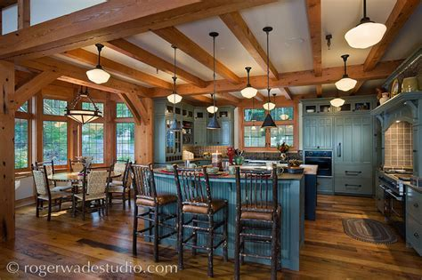 San Juan Island Lodge   Traditional   Kitchen   seattle