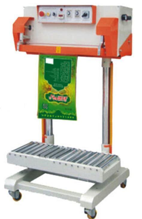 pneumatic instant heat sealing machine  big plastic bags thermal film sealer equipment