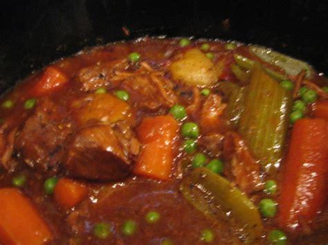 slow cooker hearty beef stew recipe foodcom