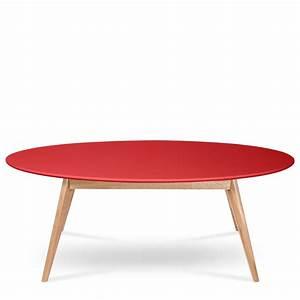 Table Ovale Design : table basse ovale skoll esprit scandinave drawer ~ Teatrodelosmanantiales.com Idées de Décoration