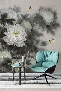 Peinture Sur Papier Peint Existant : les 9 meilleures images du tableau papier peint tapisserie ~ Premium-room.com Idées de Décoration