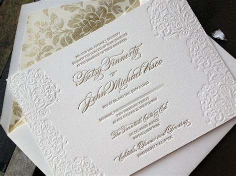 french press blog: Elegant Wedding Invitations