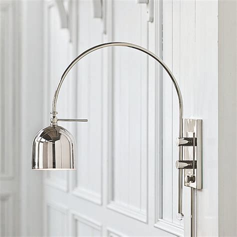 swing arm wall l swing arm wall l with touch in wall lights