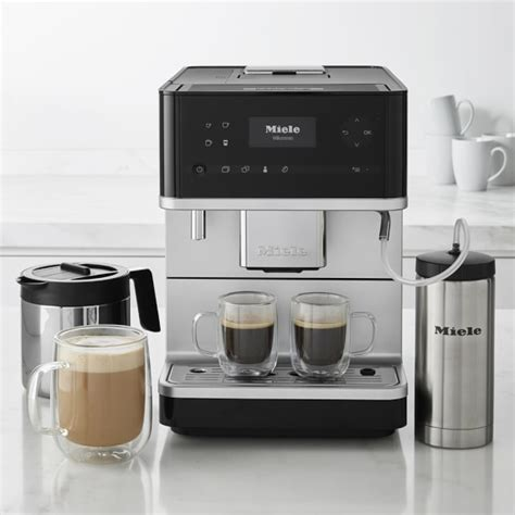 Miele Countertop Coffee Machine - miele cm6350 countertop coffee machine with milk frother
