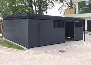 Holz Farbe Anthrazit : einhausungen m lleinhausungen gartana galerie ~ Sanjose-hotels-ca.com Haus und Dekorationen