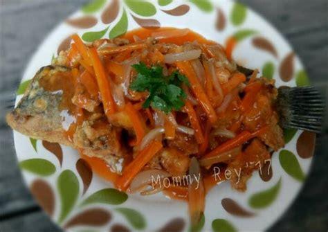 Bagaimana, tidak terlalu sulitkan resep kepiting saus padang ini. Resep Gurame Fillet Asam Manis oleh Mommy Rey - Cookpad
