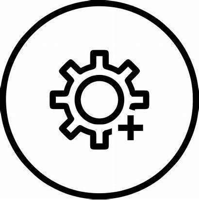 Customize Icon Setting Change Options Insert Svg