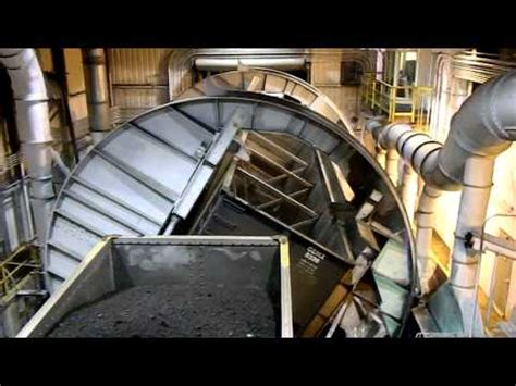 Coal Car Dumper by Rotary Coal Sler 2 Conveyor Constant Tension Winch 3