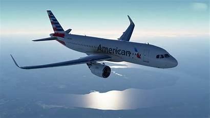 A320 Airlines American Neo Flight Simulator Microsoft