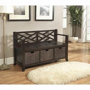 simpli, home, adrien, entryway, storage, bench, , u0026, reviews