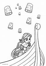 Coloring Pages Tangled Printable Cool2bkids Disney Printables Books Candid sketch template