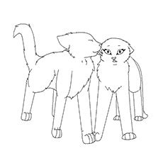Scary Halloween Coloring Pages Online by Top 25 Free Printable Warrior Cats Coloring Pages Online