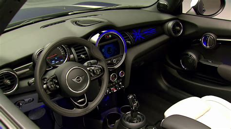 mini convertible interior design youtube