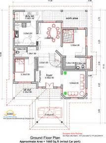 make floor plan house plan and elevation 2165 sq ft kerala home design