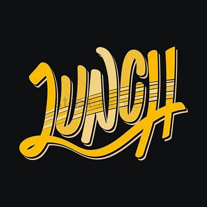 Lunch Word Stockunlimited Graphic