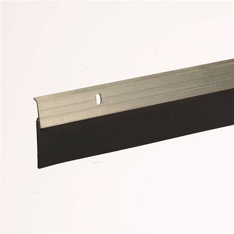 king door sweep king e o 2 in x 36 in satin nickel reinforced
