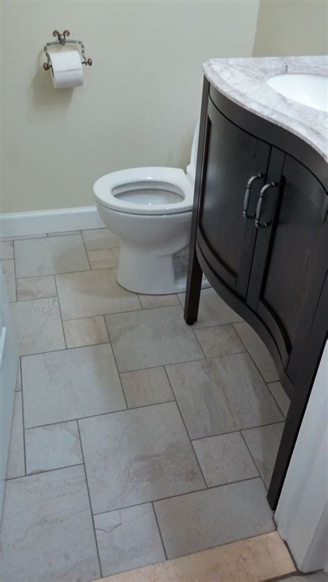 style selections style selections ivetta white glazed porcelain floor tile common 12