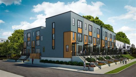 Modern Row Houses To Go Up Near Museum District, Scott's