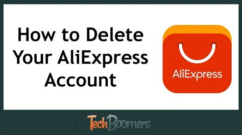 delete  aliexpress account youtube