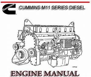 Cummins M11 Series Diesel Engine Workshop Manual