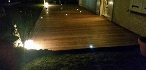 loire eco bois eclairage terrasse bois With eclairage pour terrasse en bois exterieur