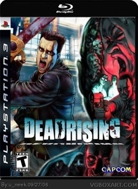 dead rising playstation  box art cover  uneek