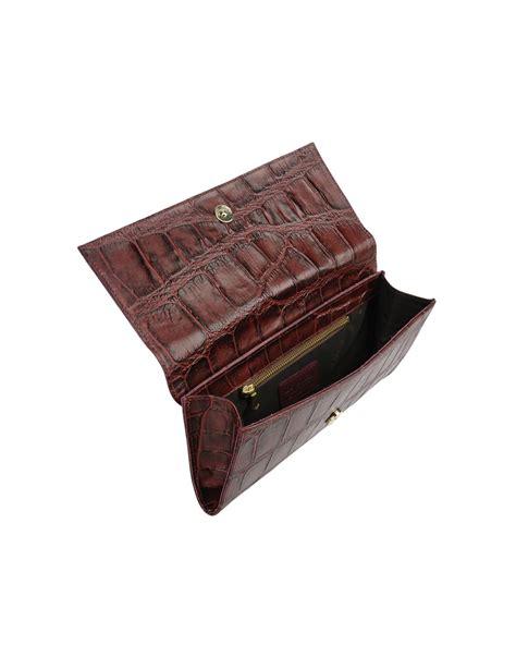 Le Solim Medium Leather Bag in Maroon (Purple) - Lyst