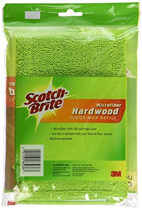 Scotch Brite Microfiber Hardwood Floor Mop Refill by Scotch Brite Microfiber Hardwood Floor Mop Refill 1 Count