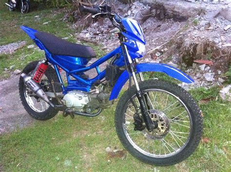 Jual Motor Modifikasi Trail adventure trail xtreme jembrana modifikasi