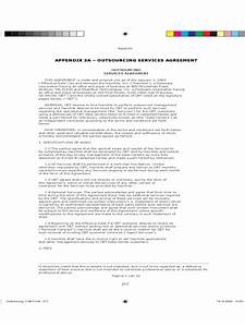 outsourcing contract template 2 free templates in pdf With outsourcing contract template