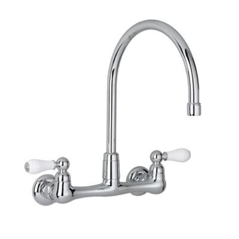 wall mounted kitchen faucets home depot american standard heritage 2 handle wall mount kitchen