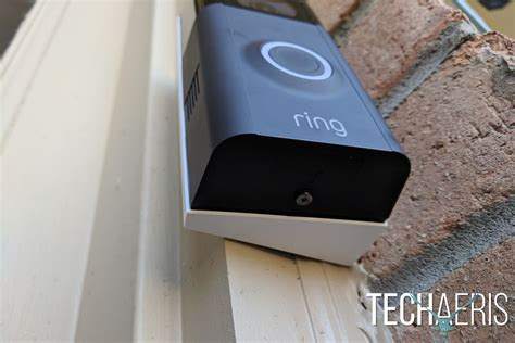 how to install a doorbell with transformer side of ring video doorbell 2 review easily keep an eye on your