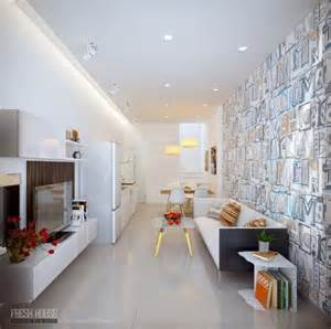 Apartment With Artistic Flair Visualized by 17 Best Interior Design Images On