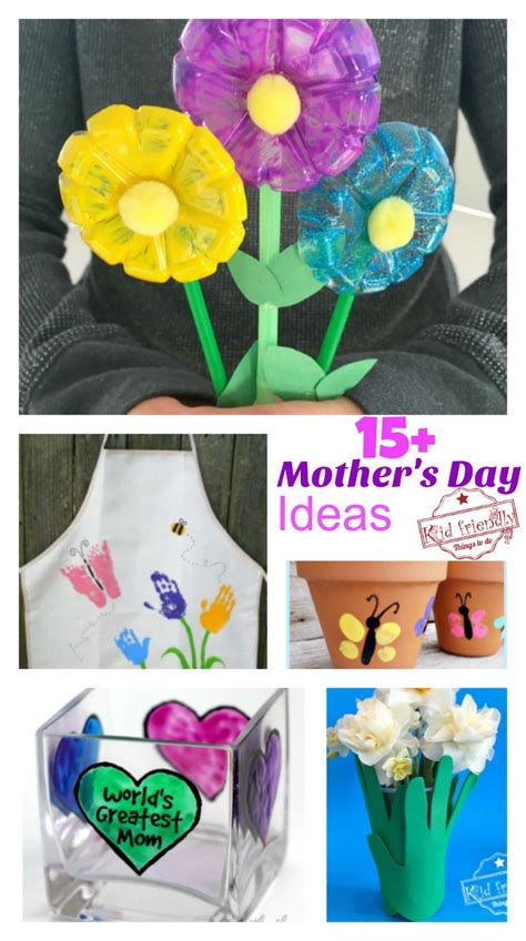 15 s day crafts that can make for gifts 386 | PicMonkey Image mothers day ideas
