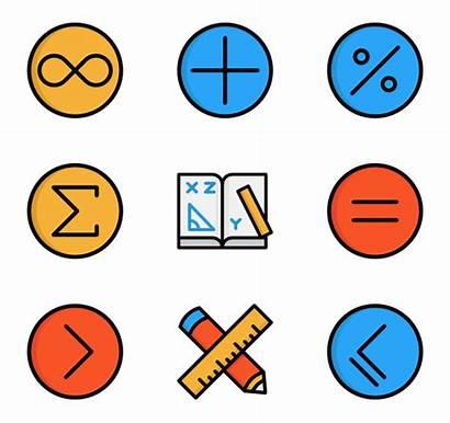 Math Symbols Maths Transparent Iconos Icon Matematicas