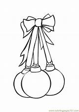 Christmas Coloring Pages Bulb Flower Template Trees Coloringpages101 sketch template