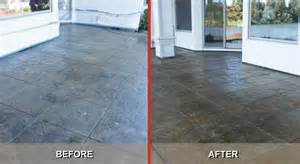 Acid Stain Floor by 3 Simple Tips To Restore Stamped Concrete Back To Perfection