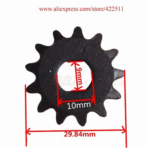 Electric Motor Sprocket by Electric Scooter Front Chain Sprocket 25h 13teeth Electric