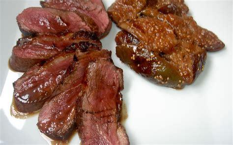 cuisiner magret de canard poele recette magret de canard aux figues économique et facile gt cuisine étudiant