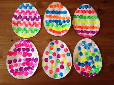 cork painted easter egg craft easter craft preschool 969 | 51ac33501b5afc7981899d3b20329f3b